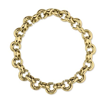 Gabriela Artigas 14k Plated Egg Link Bracelet