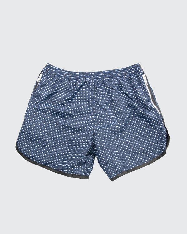 Robinson Les Bains Cambridge Long Swim Shorts