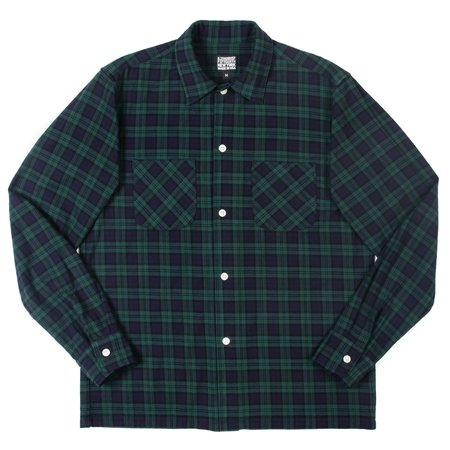 August Fifteenth California Shirt - Black Watch Tartan
