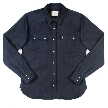 Freenote Cloth Freenote Modern Western Shirt—11 oz. Cone Mills Denim