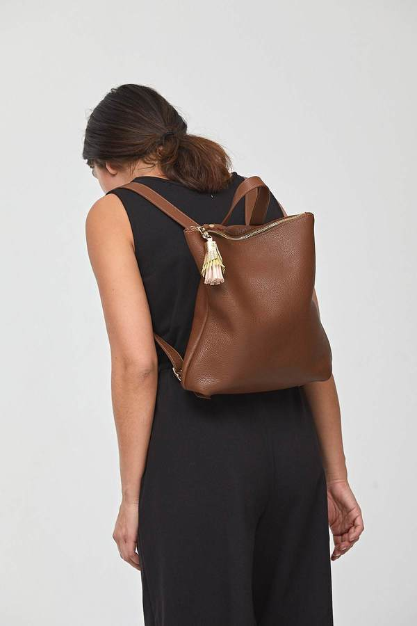 Shana Luther Hill Backpack - Brown
