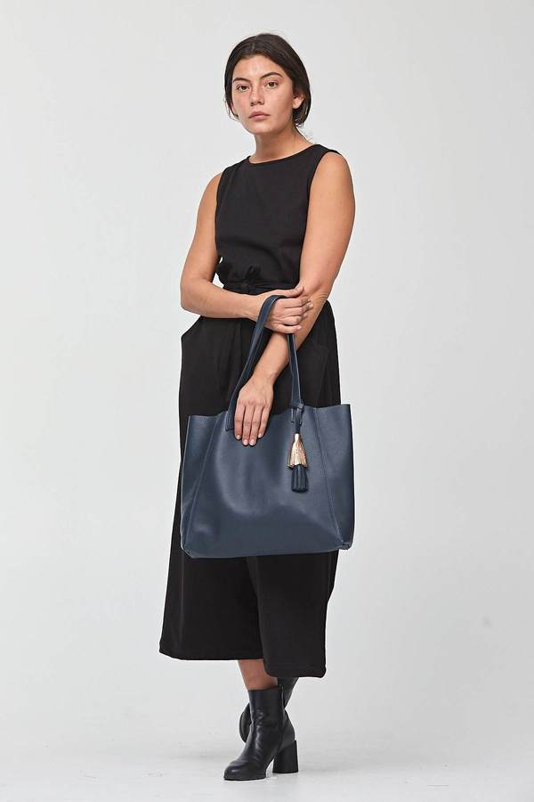 Shana Luther Navy June Tote