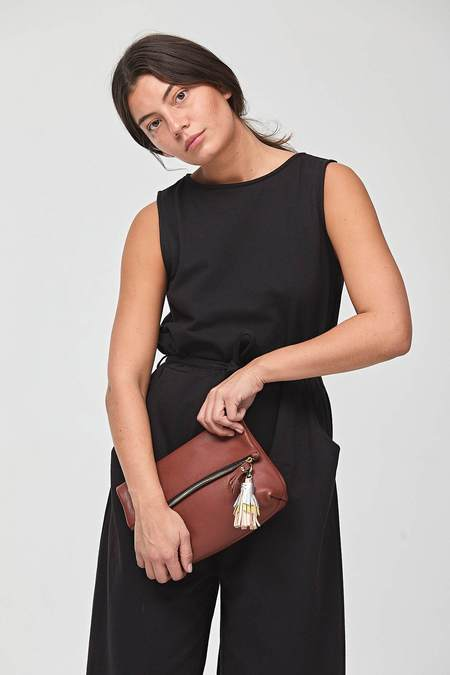 Shana Luther Tre Clutch Rust