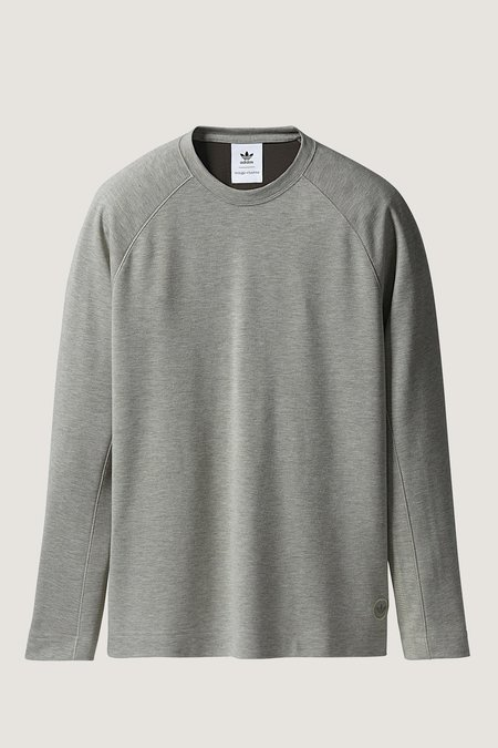 Adidas X Wings + Horns Double Knit Long Sleeve - Sesame