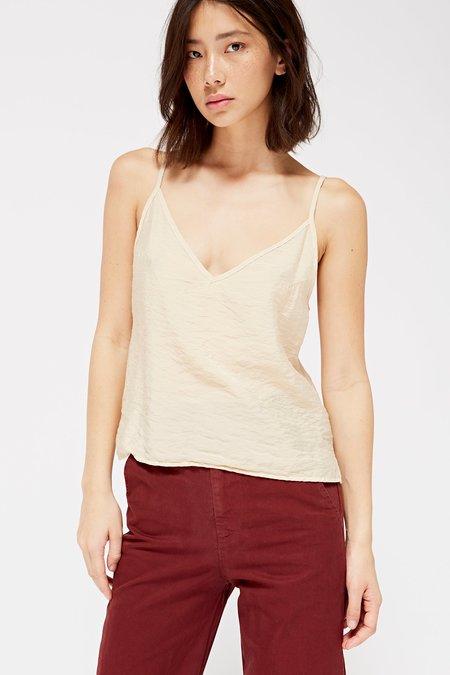 Lacausa Clothing Sofia Slip Tank - Champagne