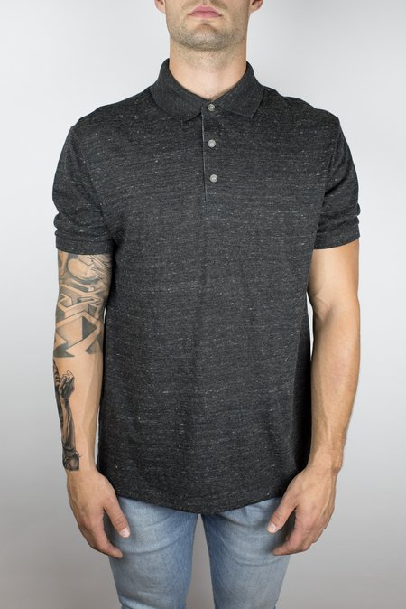 Craft of Lyfe The Bonfire Polo in Heather Charcoal