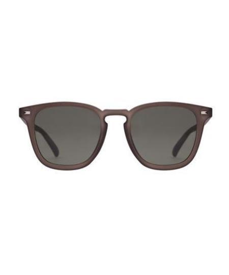 Le Specs Matte Pebble No Biggie Sunglasses