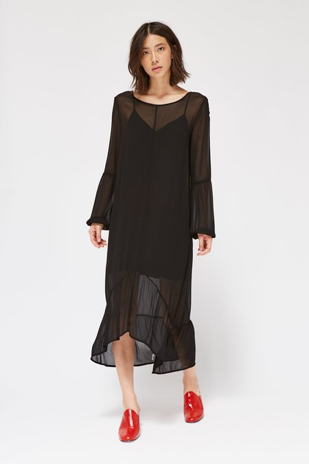 Lacausa Clothing Topanga Dress - Tar