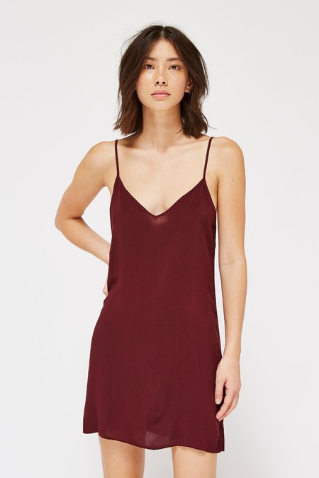 Lacausa Clothing V Slip - Beret