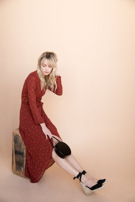 BETWEEN TEN Nikki Wrap Dress