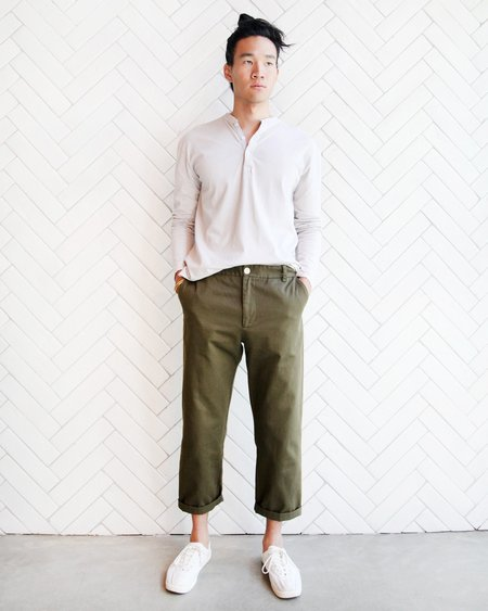 Esby Apparel Esby CARSON CHINO - OLIVE