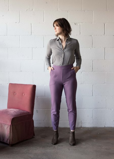 Birds of North America Crane Pants - Mauve