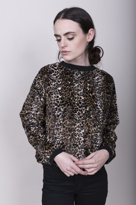 Rachel Comey Poison Top - Cheetah