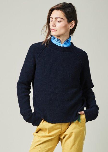 Kristensen du Nord Rib Collar Cashmere Sweater