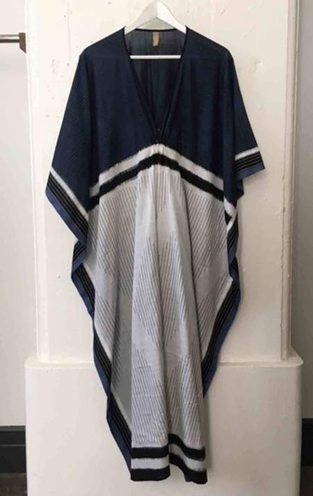 Two Blue and White Caftan