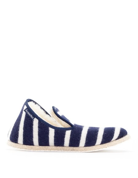 Armor Lux Patterned Slippers Navy Nature