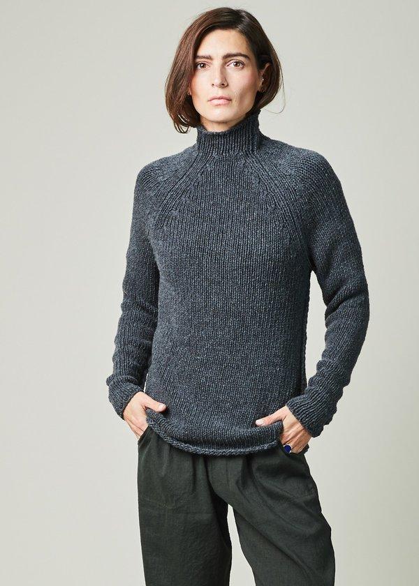 Kristensen du Nord Mock Neck Cashmere Sweater