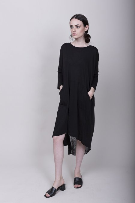 Raquel Allegra Oversize Dress - Black