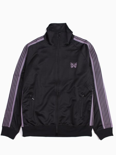 Needles Track Jacket - Poly Smooth Black