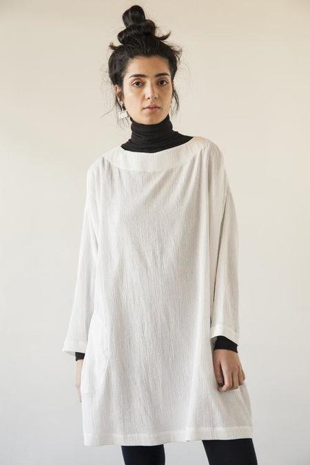 Sunja Link Tunic - White
