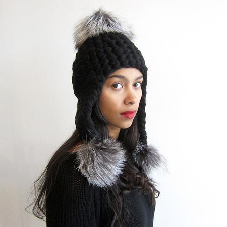 Mischa Lampert Triple Trouble - Black/Silver fox