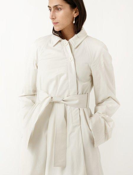 Lemaire Wadded Coat - Ecru