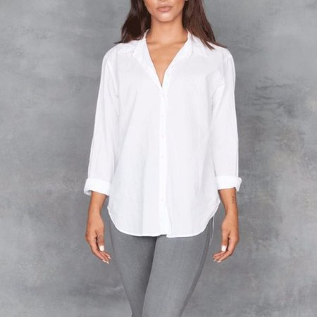 Xirena Beau Long Sleeve Button Up in White