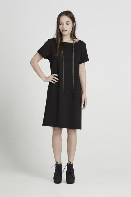 ELISA C-ROSSOW T2 dress - Black
