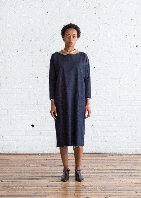 Erica Tanov Innes Pocket Dress - Denim