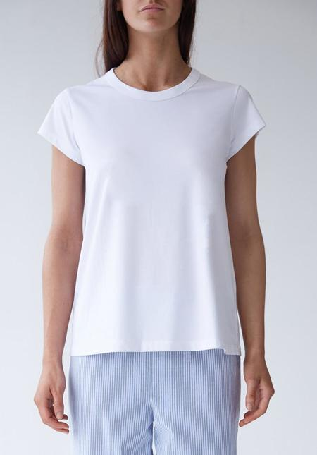 Laing Oliver Crew Neck Sleep T - White