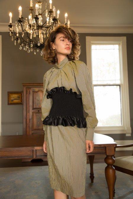 Nika Tang SS18 Pre-Order Lola Dress - Yellow