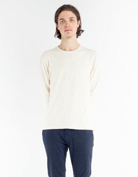 18 Waits Drifter T-Shirt - Natural Slub Double Jersey