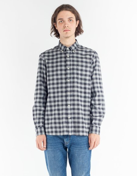 Woolrich Polar Flannel Shirt - Grey Buffalo