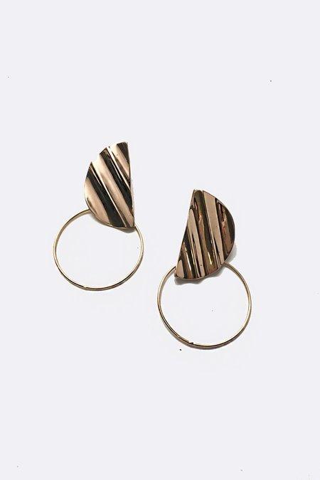 Mau Roma Hoop Earrings