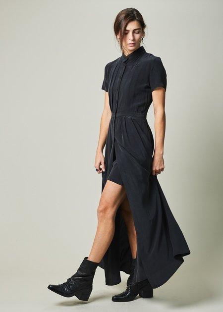 Margaux Lonnberg Jayne Silk Crepe Dress