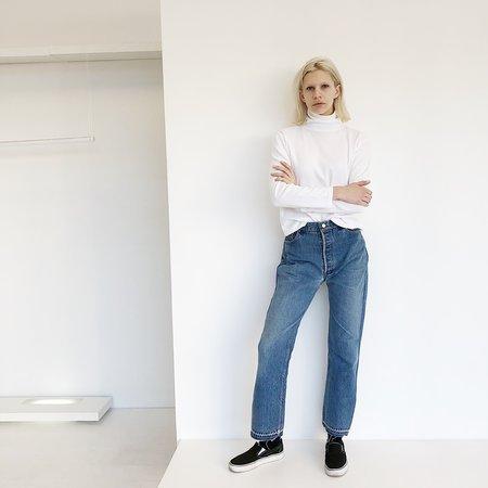 Audrey Brown Deconstructed Jeans