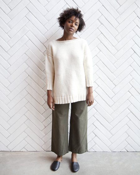 Esby Andrea American Sweater - Natural
