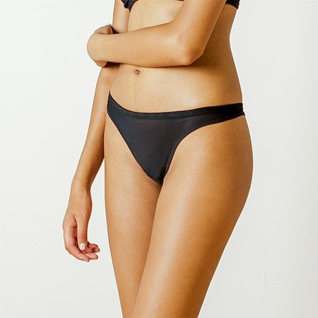 Land of Women Classic Thong in Black