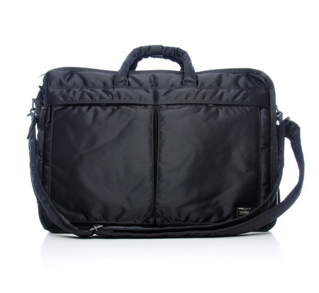 Porter 3 Way Black Tanker Weekender