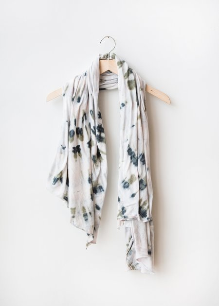 Raquel Allegra Big Scarf - Watermelon Tie Dye
