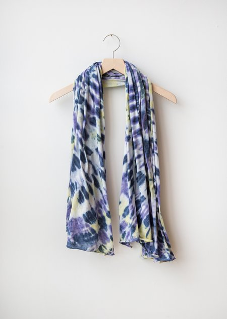 Raquel Allegra Big Sheer Scarf - Violet