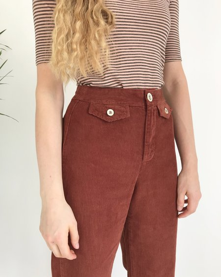 Paloma Wool Lagos Pant in Rust