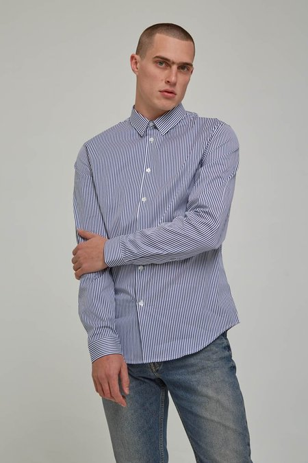 Harmony Blue Striped Clint Shirt