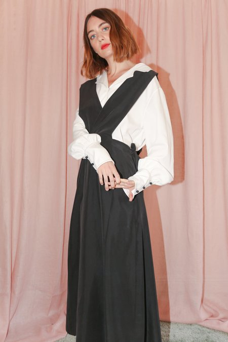 Shaina Mote Esneh Dress in Onyx