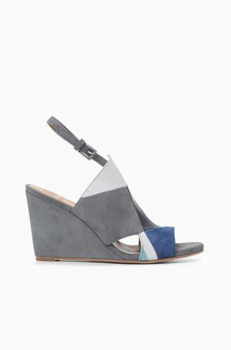 Coclico Jordy Wedge - Blue