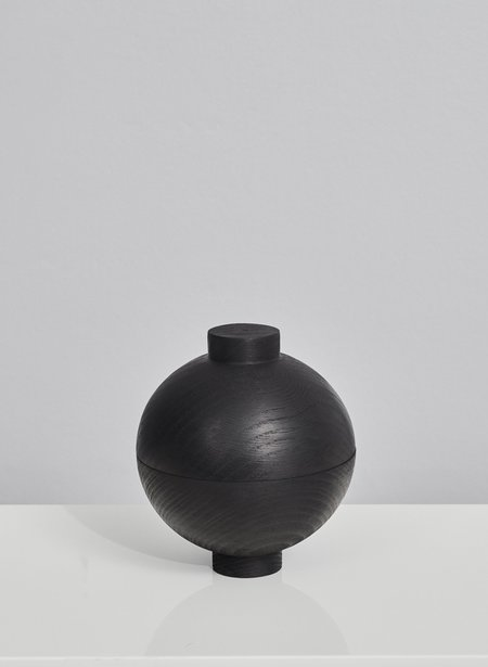 Kristina Dam Wooden Sphere Black