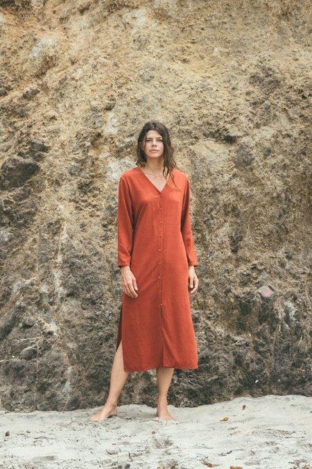 Ozma Mal Pais Duster | Silk Noil