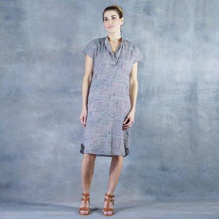 Tysa Travel Dress in Shadows