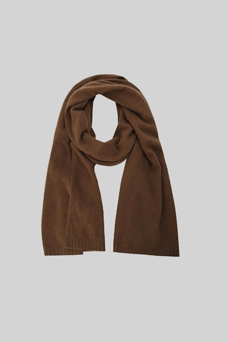 Assembly New York Cashmere Scarf - Coffee