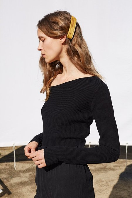 Shaina Mote Curve Sweater in Melange Dun